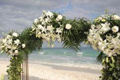 Hochzeit am Sandstrand, Freie Trauung am Meer