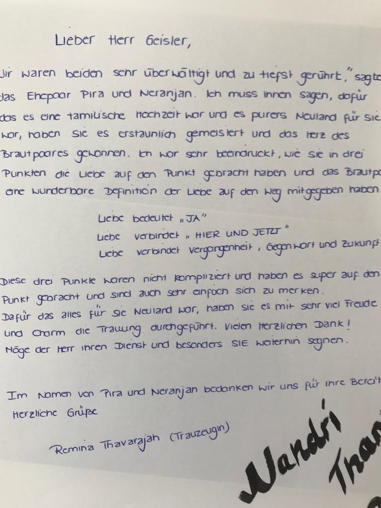 Hochzeitsredner Michael Geisler Freie Trauungen